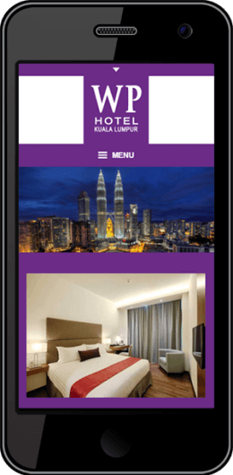 WP Hotel Responsive Website Phone Devices Timothy Graham Freelancer