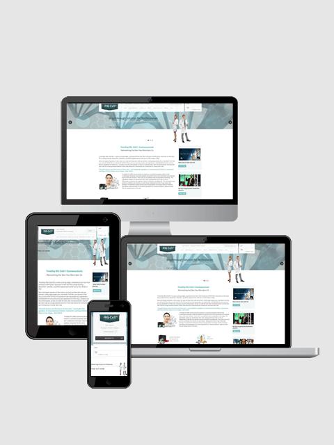 RG-Cell UK responsive website